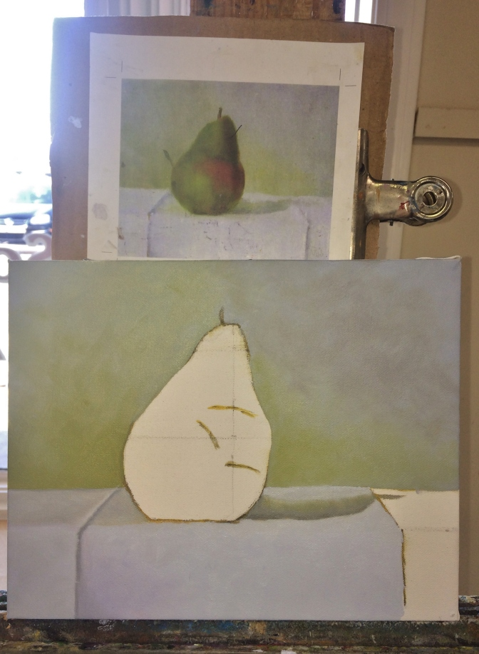 New Inspiration – Oil Painting Day Two