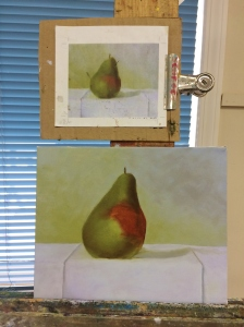1-31-15 3rd painting day