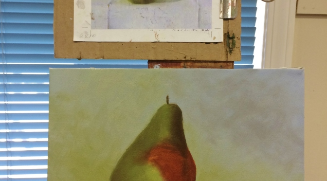 New inspiration – Oil Painting Day Three