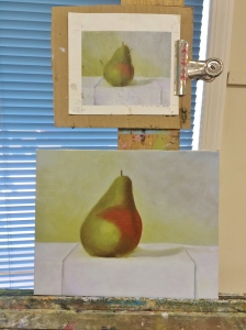 2-7-15 4th painting day